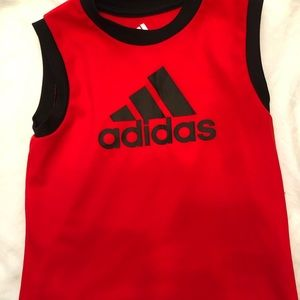 Adidas tank top size 24M Like New